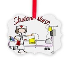 Student Nurse Poster Ornament