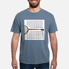 Banjo Ash Grey Shirt: Pick, Pick, Pick (Front) T-S