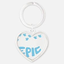 epicfail2 Heart Keychain