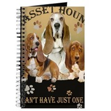 Basset Hounds Cant Have Just One Journal