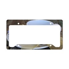 coffee License Plate Holder