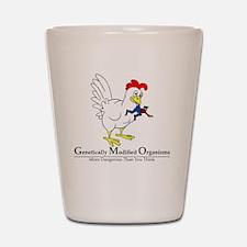 GMO Chicken Shot Glass
