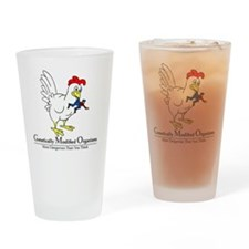 GMO Chicken Drinking Glass