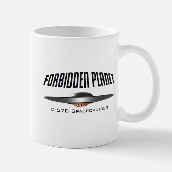 Forbidden Planet C-57D Spacecruiser Mug