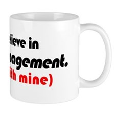 Bumper - Believe in Change Management c Mug