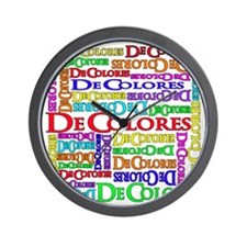 multiDecolores Wall Clock