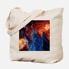 Lady_Liberty_Poster Tote Bag