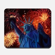 Lady_Liberty_Poster Mousepad