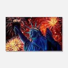 Lady_Liberty_Poster Car Magnet 20 x 12