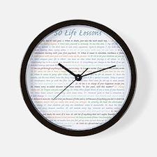 BrettApron3_All50 Wall Clock