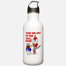 Take me out to the bal Water Bottle