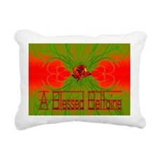 beltainecard front copy Rectangular Canvas Pillow