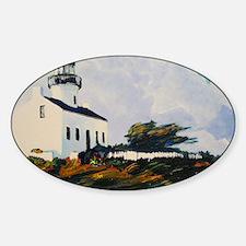 plomalight2_9x12 Sticker (Oval)