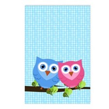 owllove2 Postcards (Package of 8)