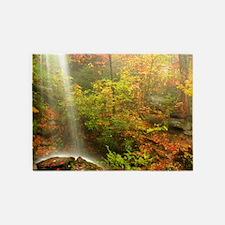 Autumn Waterfall 5'x7'Area Rug