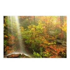 Autumn Waterfall Postcards (Package of 8)