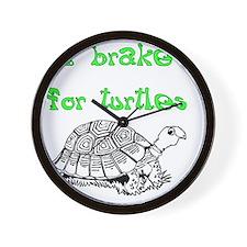 IBrake4TurtlesDark Wall Clock