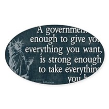 11x17_DarkFlagBigGovt Decal