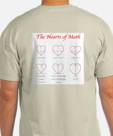 Hearts Surface/Curves Light Color T-Shirt