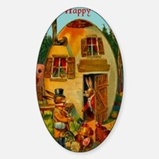 easter-egg-house Bumper Stickers