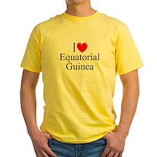"""I Love Equitorial Guinea"" T"