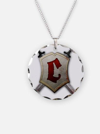Crusader Detail Necklace