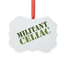 Militant Celiac Shirt Ornament