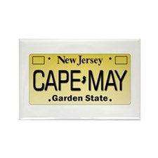 Cape May Rectangle Magnet