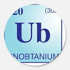 Unobtanium3 Round Car Magnet