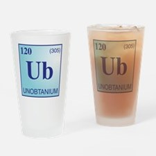 Unobtanium3 Drinking Glass