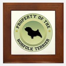 Norfolk Property Framed Tile