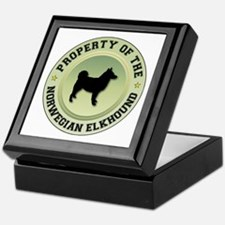 Elkhound Property Keepsake Box