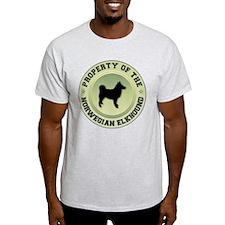 Elkhound Property Ash Grey T-Shirt