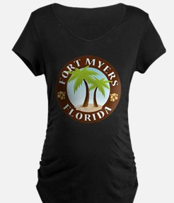 Palm-trees-Fort-Myers-Beach T-Shirt