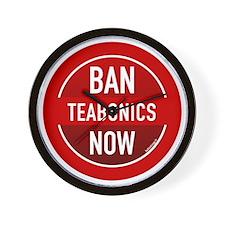 btn-ban-teabonics Wall Clock