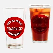 btn-no-teabonics Drinking Glass