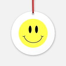 btn-symbol-smiley Round Ornament