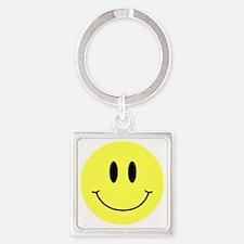 btn-symbol-smiley Square Keychain