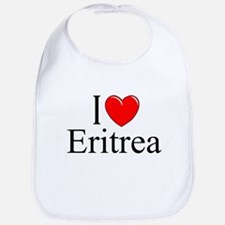 """I Love Eritrea"" Bib"