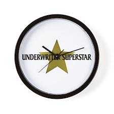 Underwriter Superstar Wall Clock