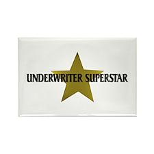 Underwriter Superstar Rectangle Magnet (10 pack)