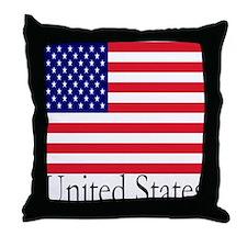 United States Throw Pillow