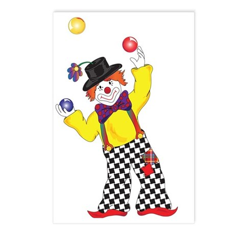 BoBo Clown2 Postcards (Package of 8)