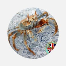 2-DGSMousepad-v1-GhostCrab.gif Round Ornament
