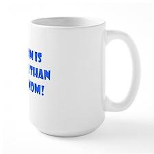 ART hotter blue Mug