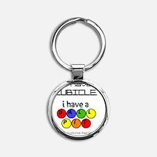 ballpit Round Keychain