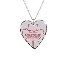 Proud to be Canadian Necklace