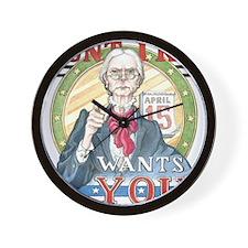 Aunt IRiS Final 300 Wall Clock
