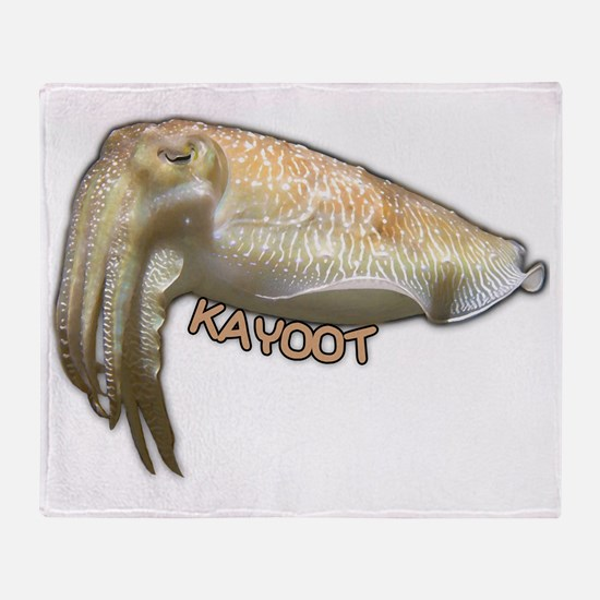 Cuttle Kayoot Throw Blanket