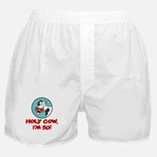 Holy Cow Im 50 Boxer Shorts